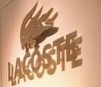 Gold Lacoste Crocodile
