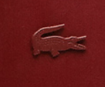 Red Lacoste Logo