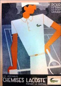 Vintage Lacoste Ad
