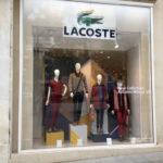 Lacoste Store Window