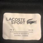 Lacoste Ironed On Label