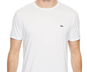 Lacoste White Crew Neck T-Shirt