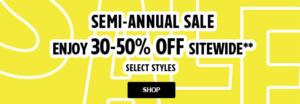 Lacoste Semi-Annual Sale