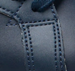 Genuine Lacoste Sneaker Stitching