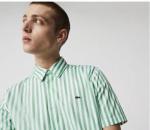 Lacoste Green Poplin Shirt